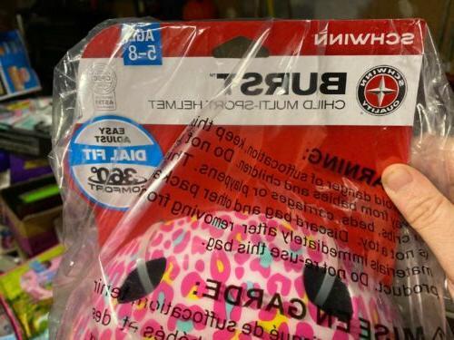 Schwinn Child Pink Bicycle Helmet 5-8-NEW