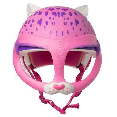 cat face mask bike helmet for kids
