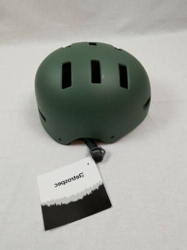 Critical Cycles CM-1 Helmet - Matte Olive