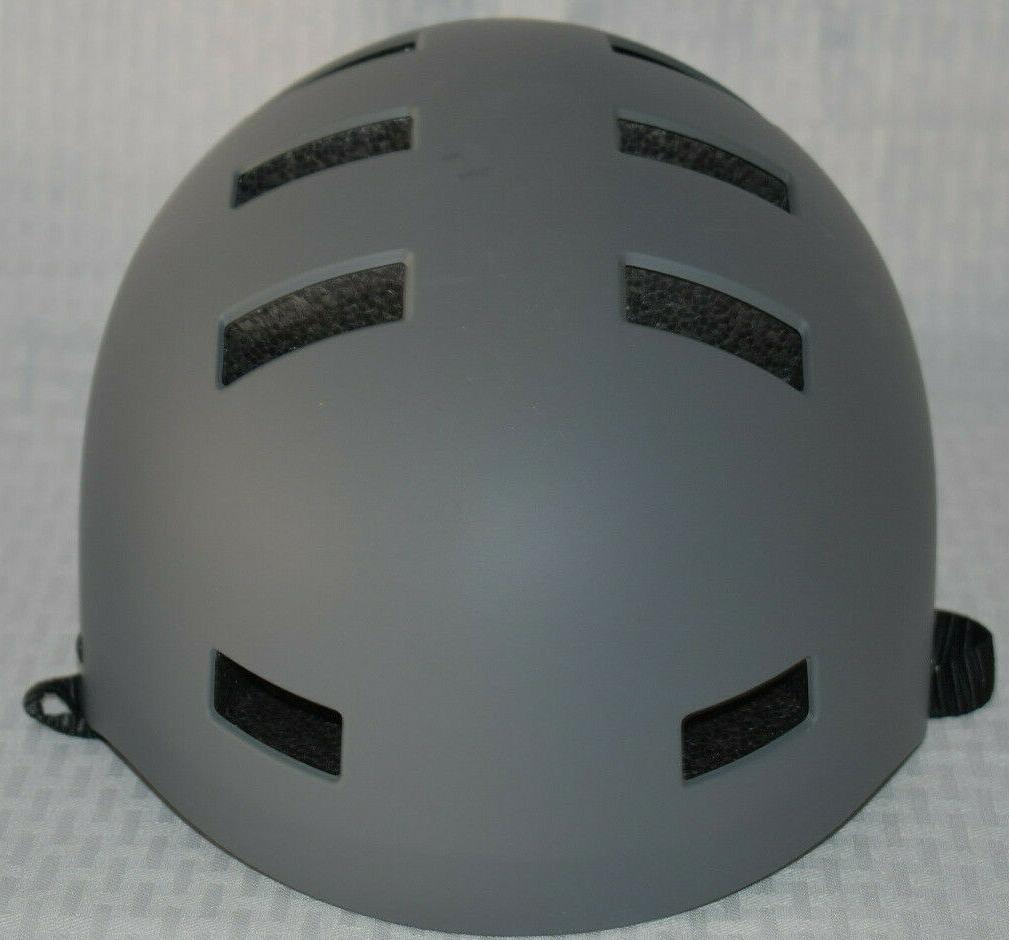 classic commuter bike skate helmet graphite large