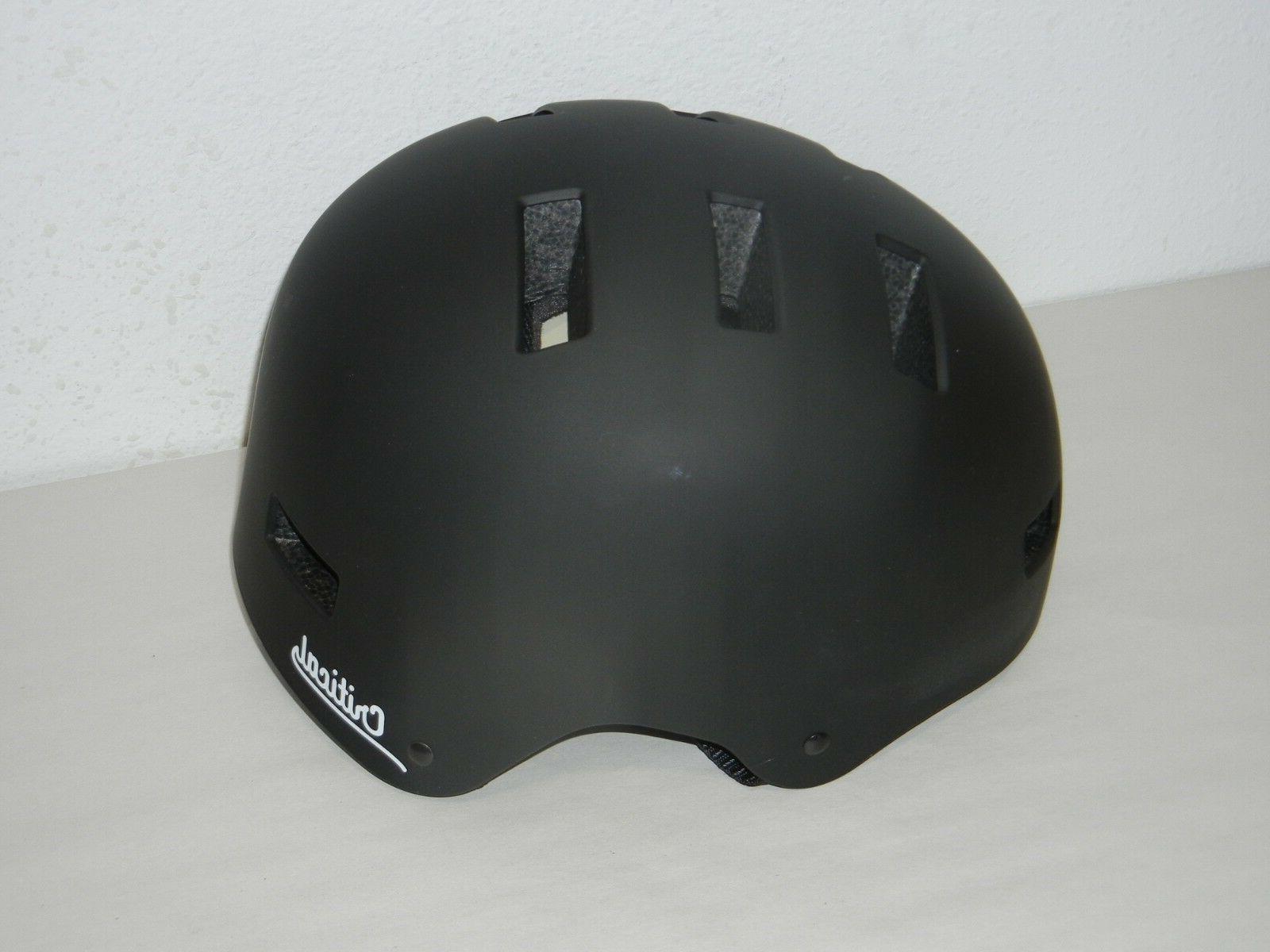 cm 1 medium matte black helmet