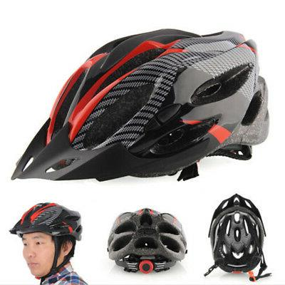 Cycling Bicycle Adult Bike Red carbon color With Visor RAS
