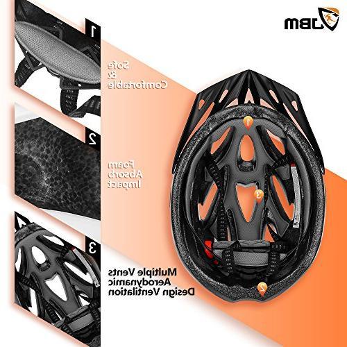 JBM Helmet Specialized for Women Safety CPSC Certified / Helmet Stripe and