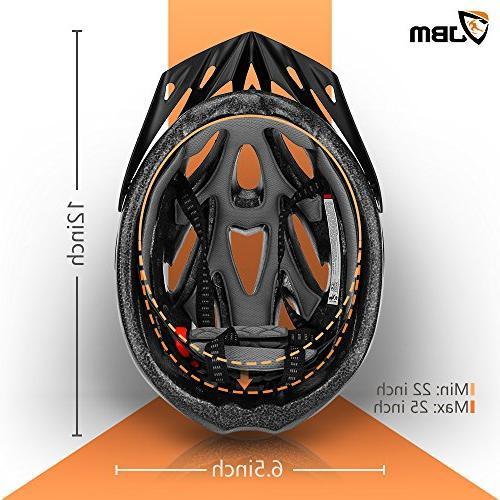 JBM Cycling Helmet Specialized Women Safety Certified / Adjustable Helmet Reflective Stripe and