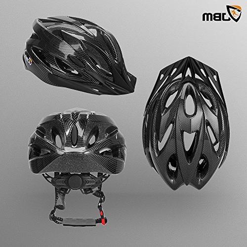 Helmet for Men Women Certified Black/Red Blue/Pink / Silver Helmet and Remova