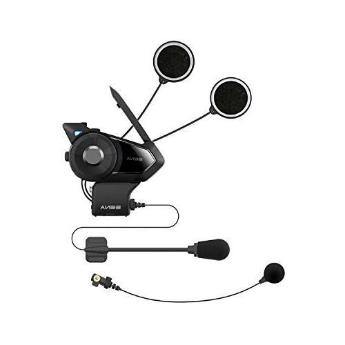 Sena 30K-01D Motorcycle Bluetooth Communication System with Intercom -