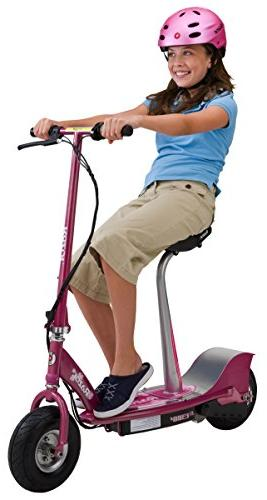 Razor Seated Electric Scooter Pea