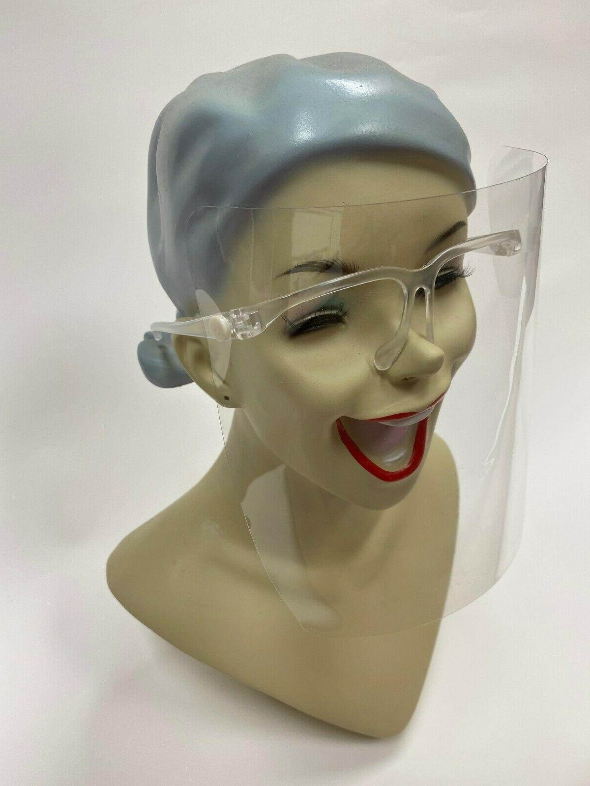 Face Clear Glasses Face Reusable