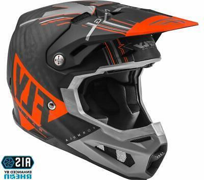 formula carbon vector helmet matte orange grey