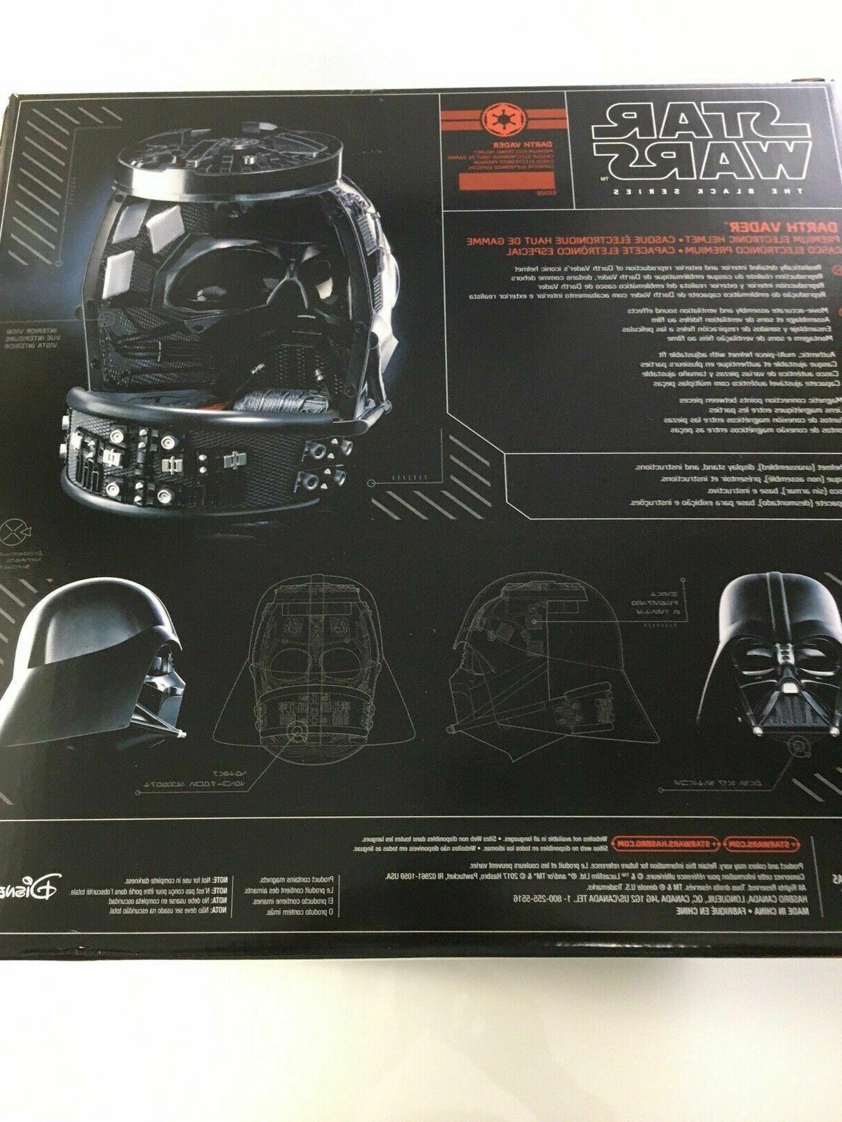 HASBRO Black Darth Vader Premium Electronic