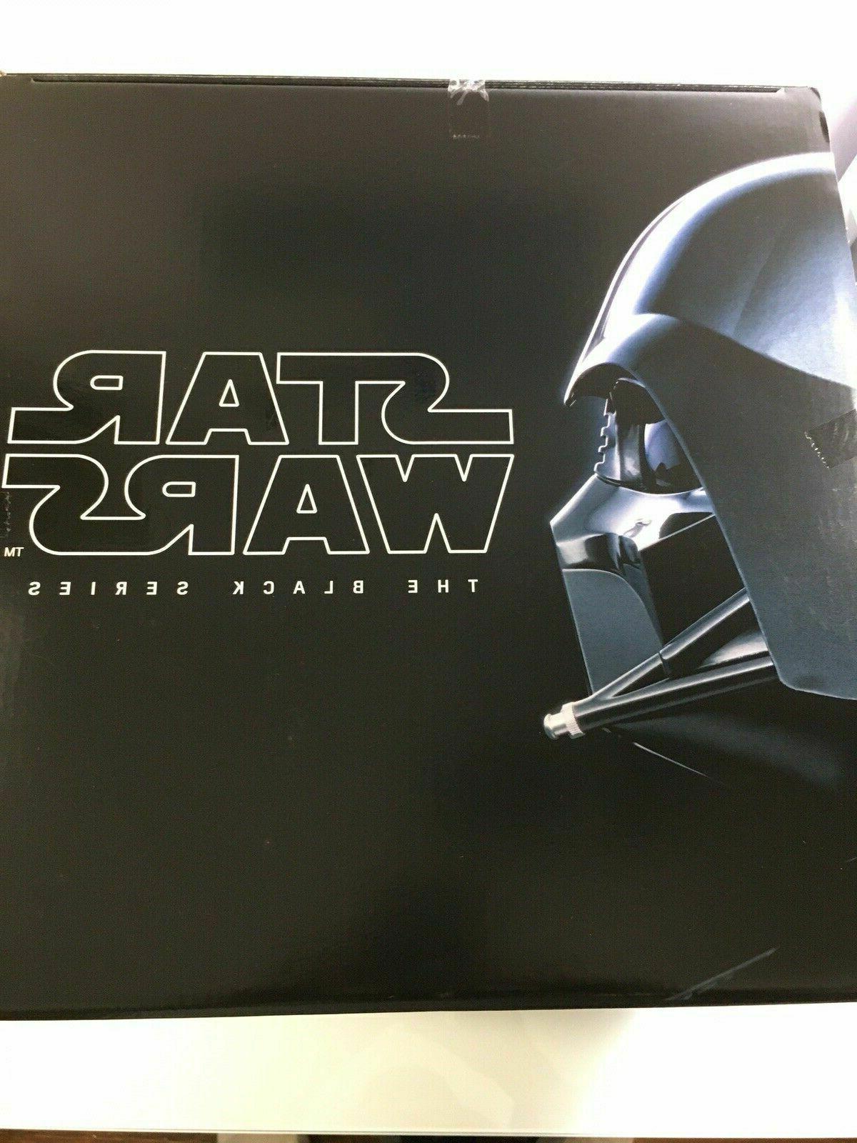 HASBRO Star Black Series Premium Electronic Helmet