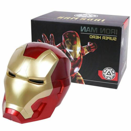 iron man motorcycle helmet cosplay mask