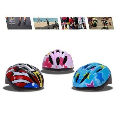 Kids Safety Helmet Bicycle Cycling Board Cap