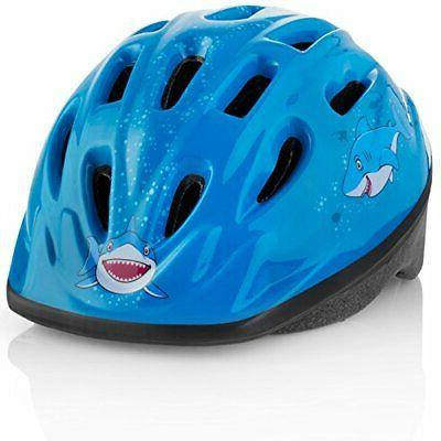kids bike helmet adjustable toddler youth size ages 3 7 dura