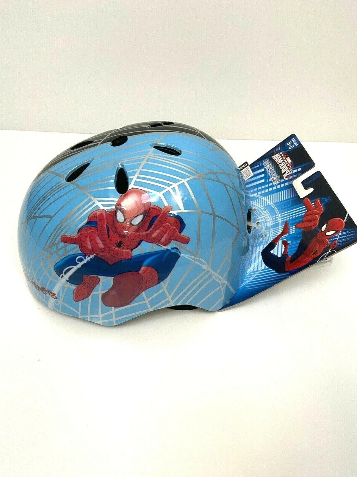 Bell Kids Spiderman Bike Helmet Ages 5-8 Two Tone Gear