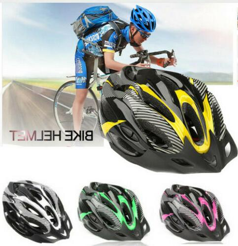 Men Womens Cycling Adult Bike Helmet Mountain Shockproof Safety