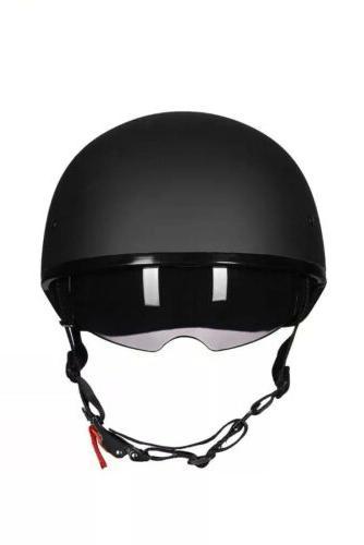 ILM Half Helmet w/Sunshield Half