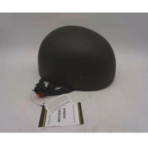 ILM Helmet w/Sunshield Half BK