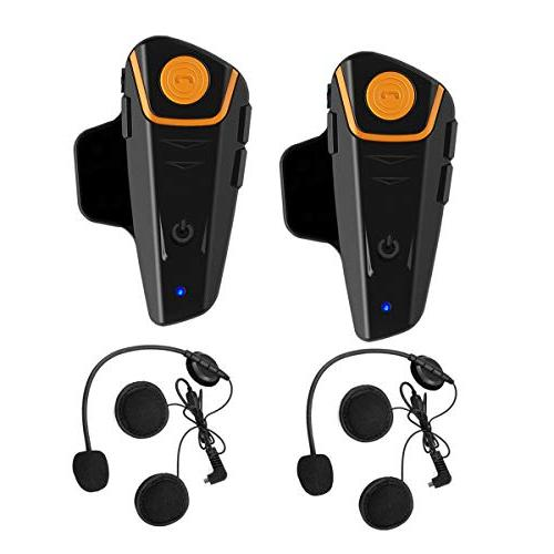 WingSport Helmet Bluetooth Headset,BT-S2 System Ski Helmet Intercom Headphones