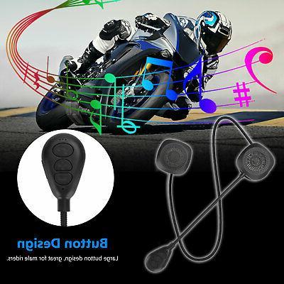 Motorcycle Headset Bluetooth Headphone Hands-Free