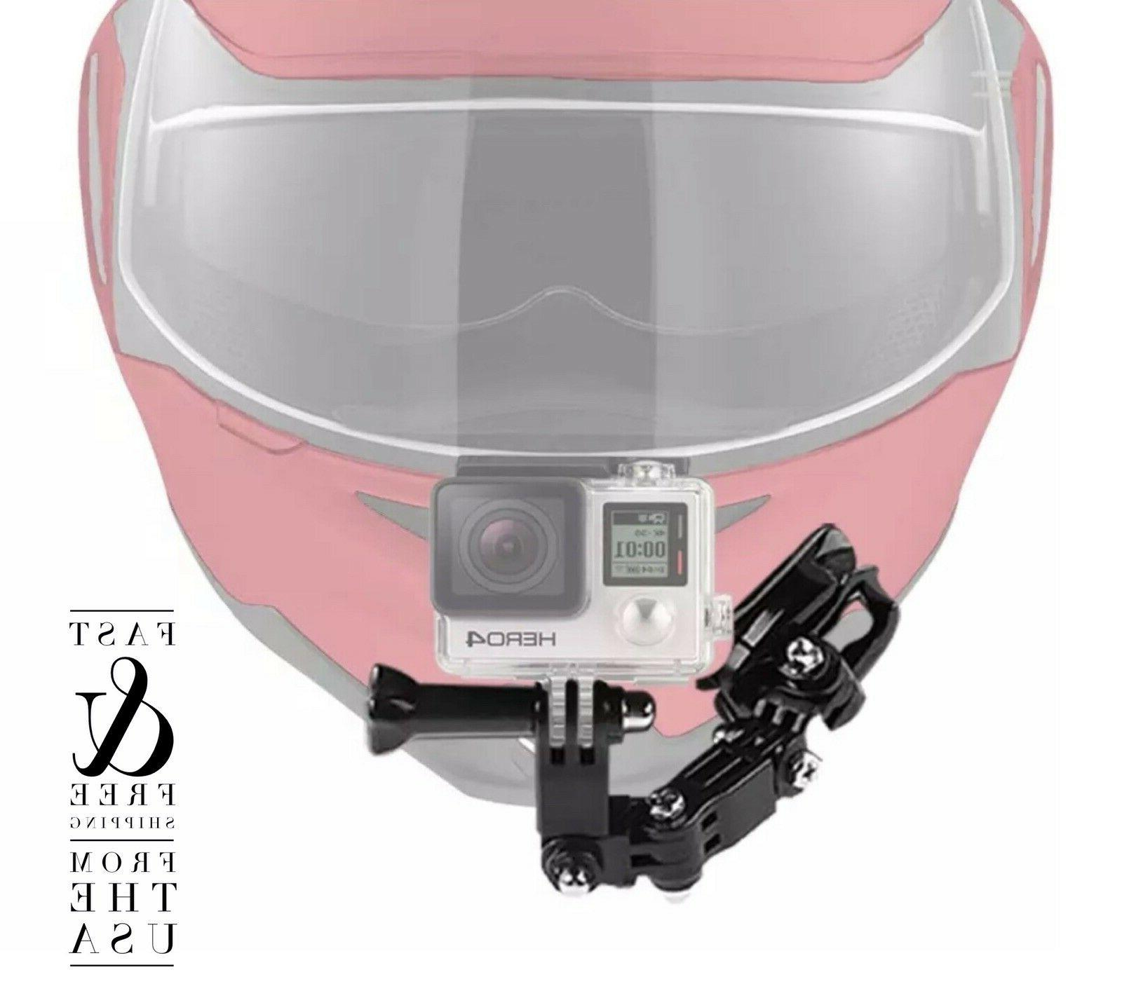 Gopro Motorcycle Helmet Mount Swivel For Hero 3 4 5 6 7 Session Action Camera