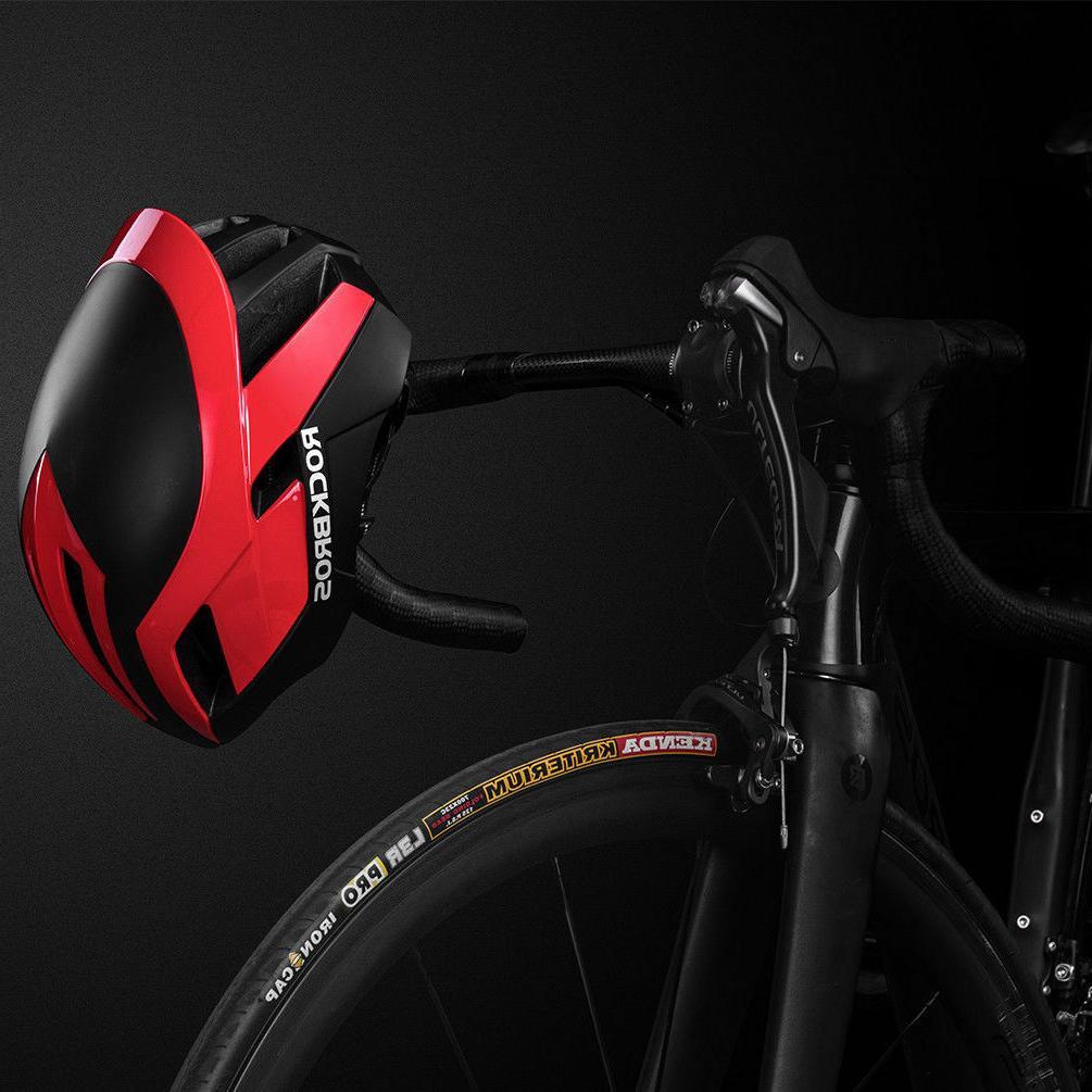 ROCKBROS MTB Road Bike Cycling 57cm-62cm EPS Integrally Helmet  Red 3 in 1