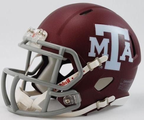 NCAA Texas A and M Speed Helmet A&M