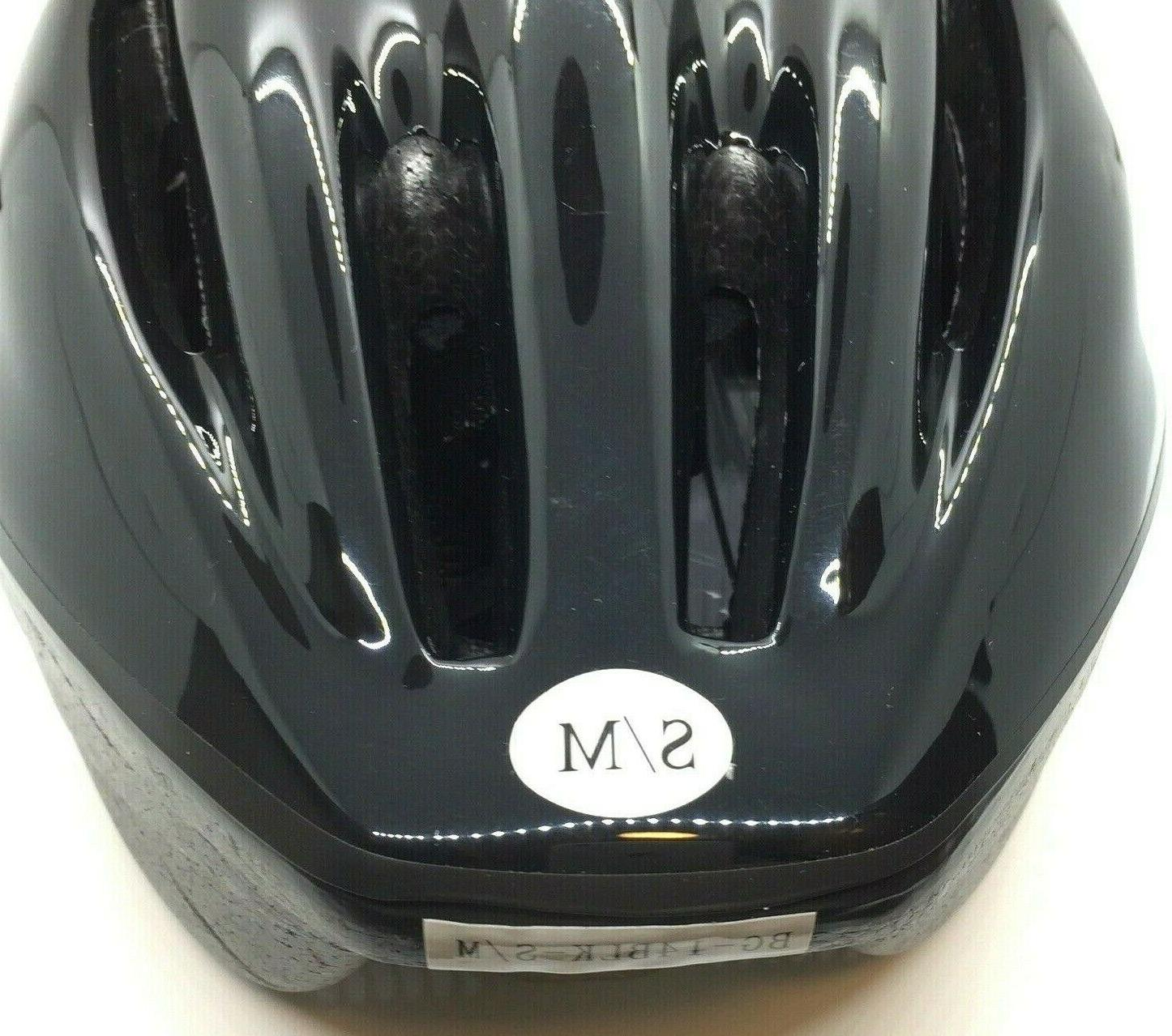 """NEW Black Helmet 22.5"""",6-11 bike,skateboard"""