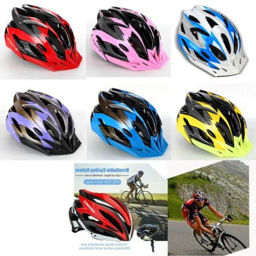 Men Bike Helmet With Visor Mountain