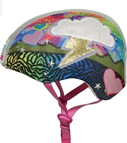 new girls 8 loud cloud sparklez helmet