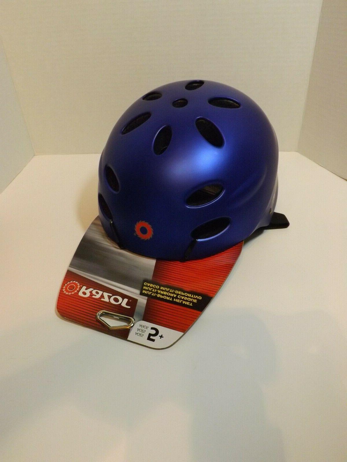 new kids multi sport helmet blue ages