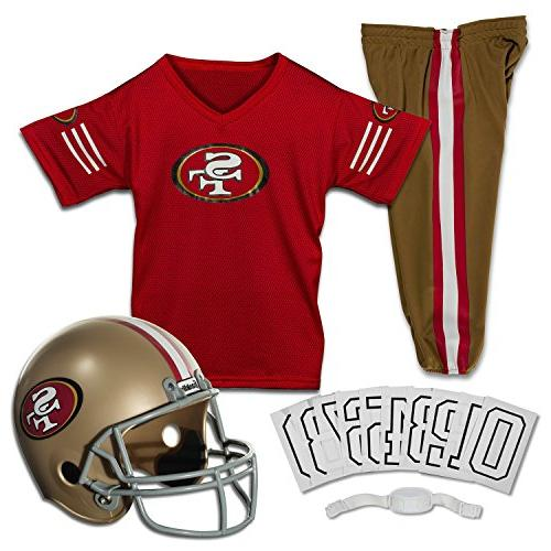 nfl deluxe youth uniform set