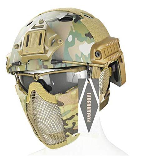 pj tactical fast helmet protect