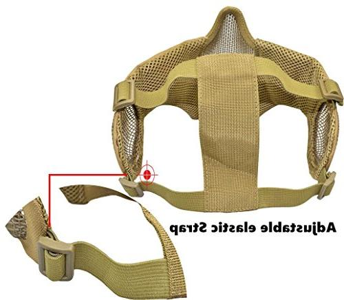 Jadedragon PJ Helmet & Protect Foldable Face Mask Goggle