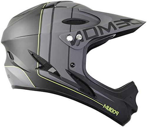podium face mountain bike helmet