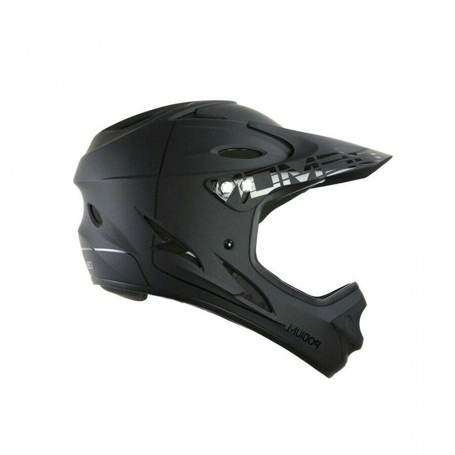 Demon Full Face Mountain Bike Helmet- and Dent