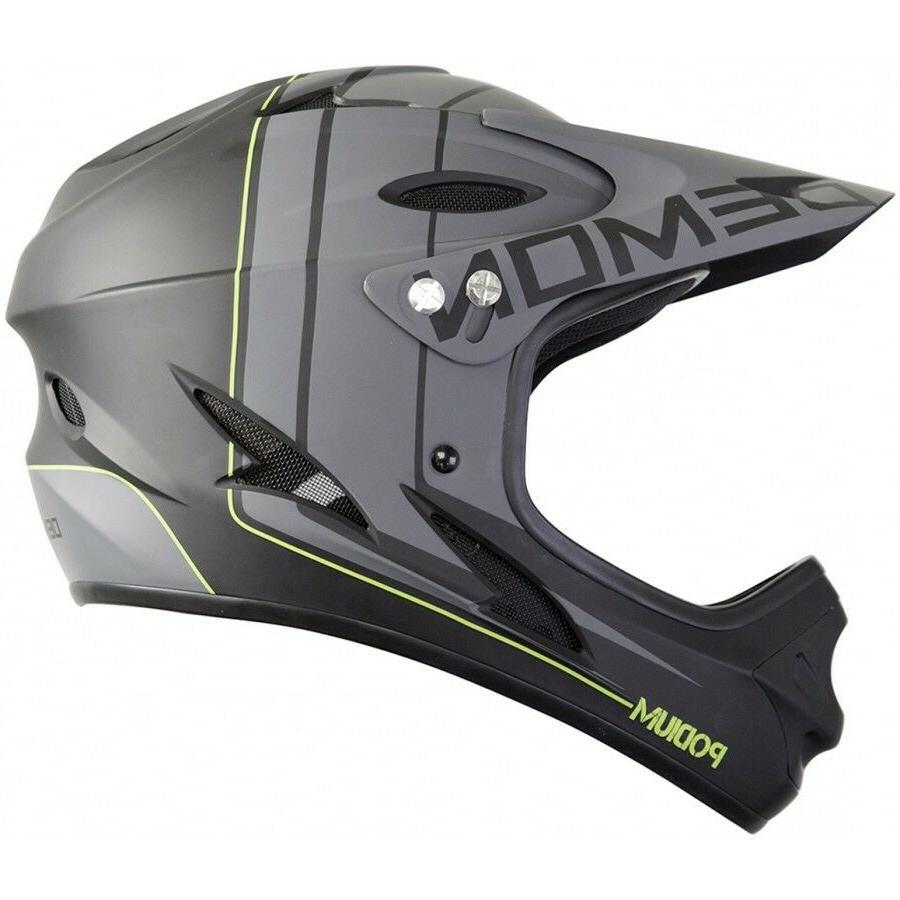 podium full face mountain bike helmet