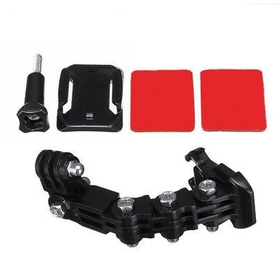 motorcycle helmet front chin mount holder