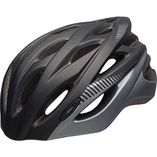 quest matte bike helmet