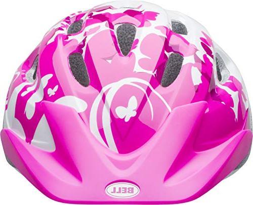 Bell 7073350 Rally Helmet, Pink/White Flutter