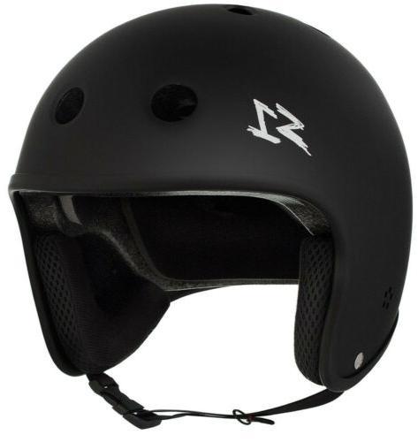 s1 retro lifer helmet black matte