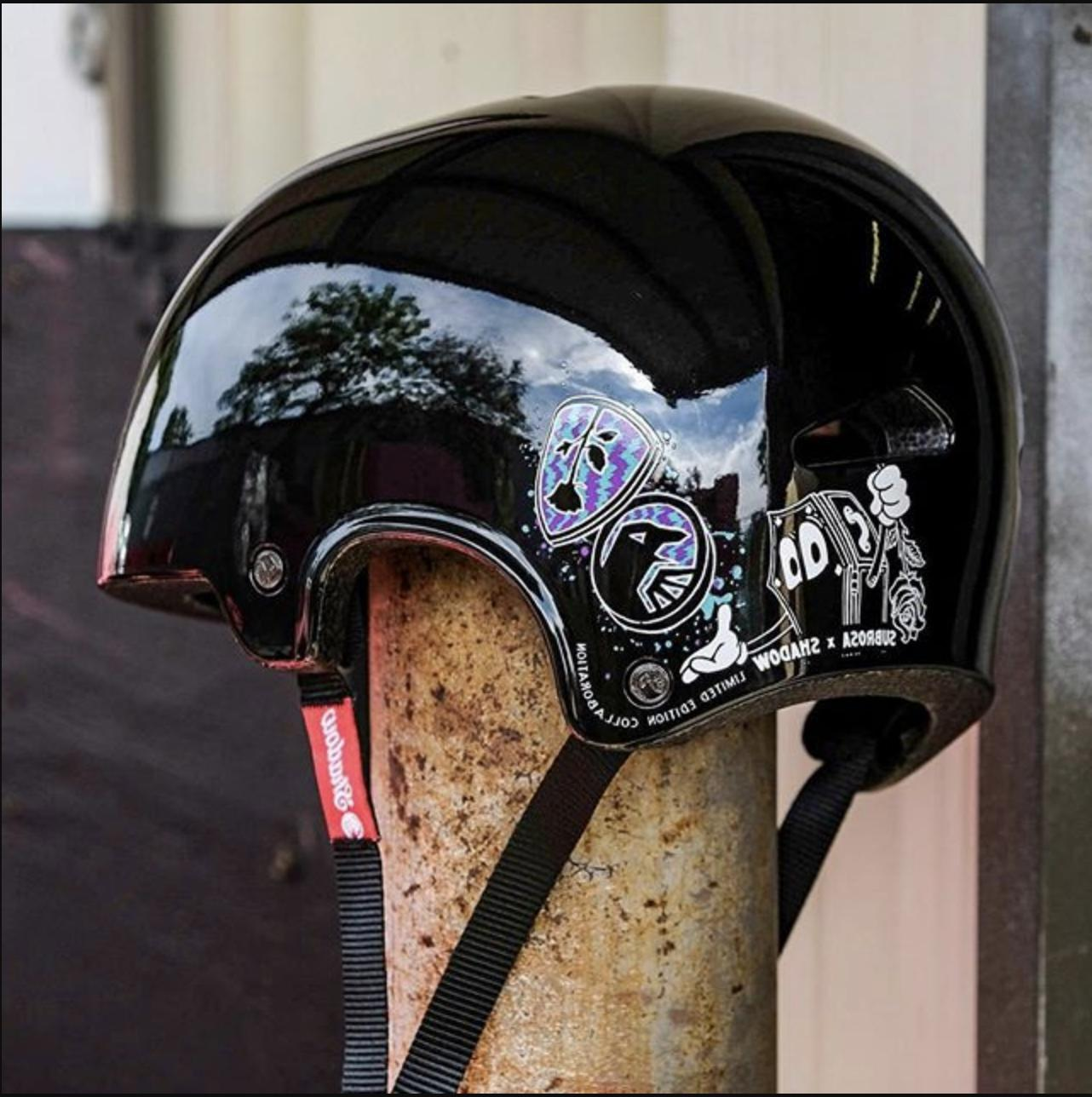 shadow x subrosa featherweight helmet sm md