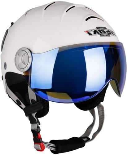 NENKI Ski Helmet with Visor Snow Sport Skiing Snowboard Helm