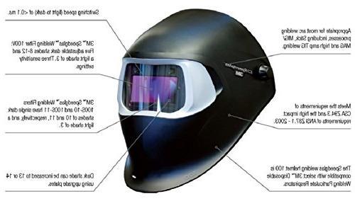 3M Speedglas Welding 100 Tribute Filter 100V Safety,