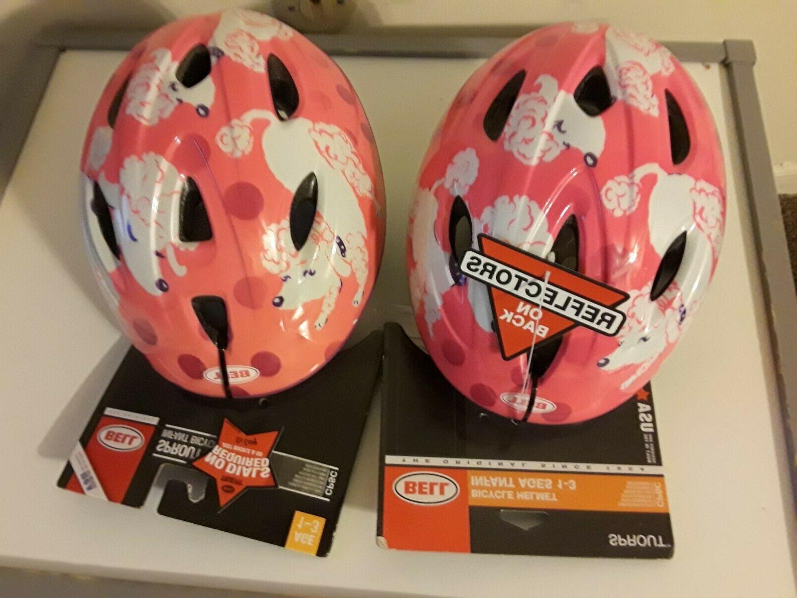 sprout bike helmet poodles