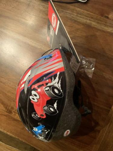 BELL SPROUT Red Blue 1+ TODDLER HELMET 47-52 NEW