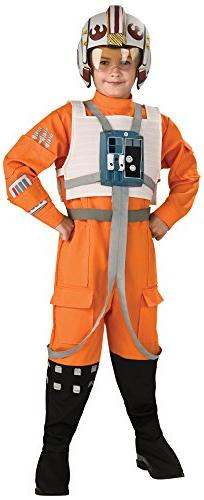 Rubies Star Wars Classic Child's Deluxe X-Wing Pilot Costume
