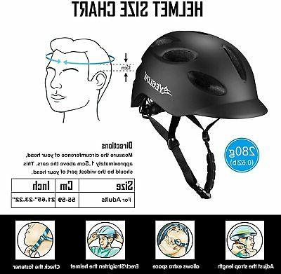 Stylish Helmet Protector Adjustable - Black