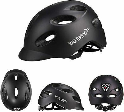 Stylish Road Helmet Protector Adjustable Black