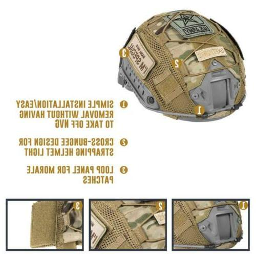 OneTigris Tactical Cover 05 for Ops-Core FAST PJ Headwear